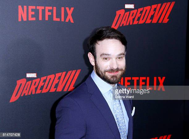 Charlie Cox attends the 'Daredevil' Season 2 Premiere at AMC Loews Lincoln Square 13 theater on March 10 2016 in New York City