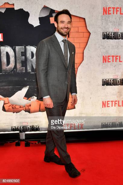 Charlie Cox attends the 'Marvel's The Defenders' New York Premiere at Tribeca Performing Arts Center on July 31 2017 in New York City