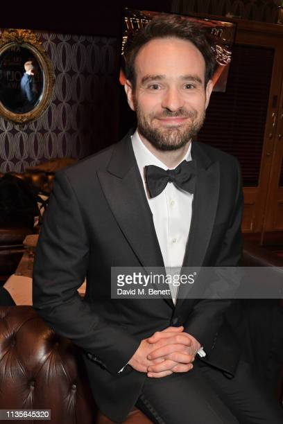 Charlie Cox attends The Olivier Awards 2019 with Mastercard at The Royal Albert Hall on April 7 2019 in London England
