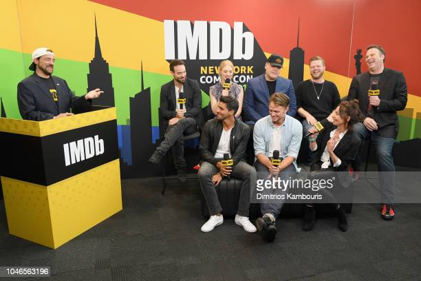 Charlie Cox, Deborah Ann Woll, Vincent D'Onofrio, Elden Henson, Erik Oleson, Jay Ali, Wilson Bethel and Joanne Whalley of 'Daredevil' and Kevin Smith...