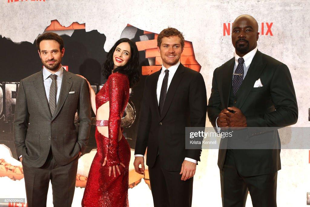 """Marvel's The Defenders"" New York Premiere : News Photo"
