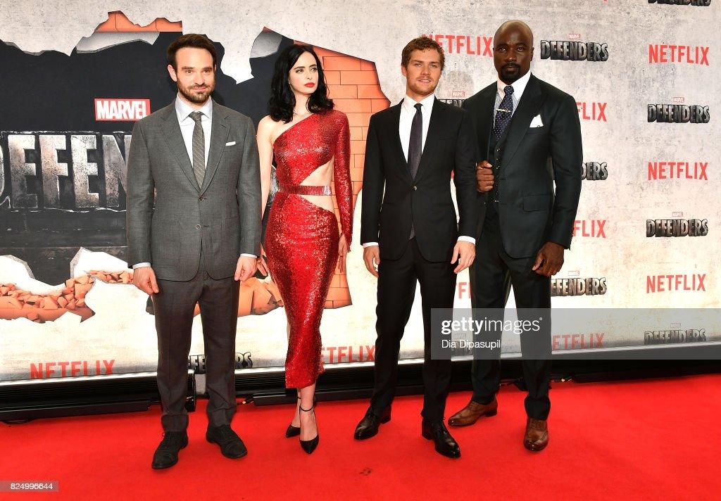 """Marvel's The Defenders"" New York Premiere - Arrivals : Foto jornalística"