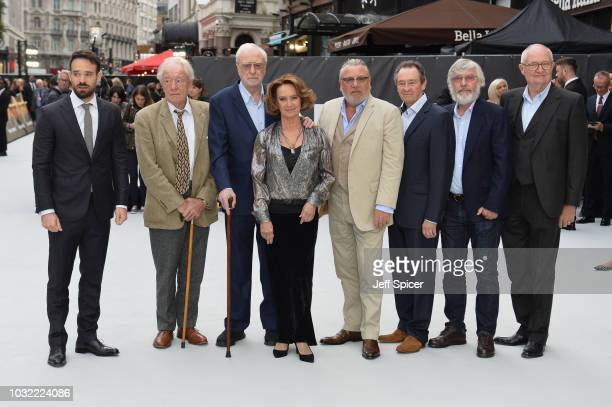 Charlie Cox Sir Michael Gambon Sir Michael Caine Francesca Annis Ray Winstone Paul Whitehouse Sir Tom Courtenay and Jim Broadbent attend the World...