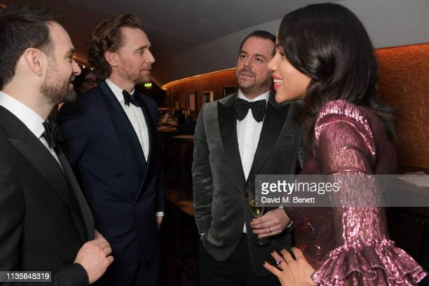 Charlie Cox Tom Hiddleston Danny Dyer and Zawe Ashton attend The Olivier Awards 2019 with Mastercard at The Royal Albert Hall on April 7 2019 in...