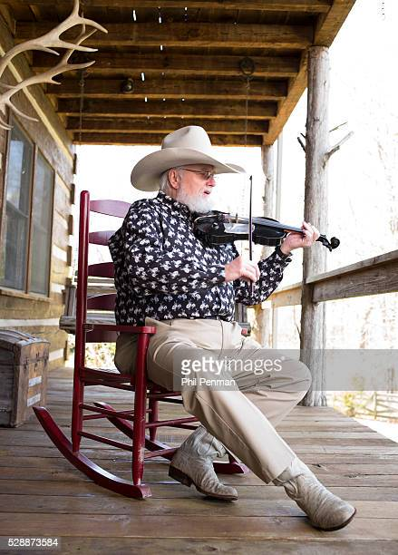 Charlie Daniels at his Twin Pines Ranch outside Nashville Tennesse We bought some 50 acres and built the house in '79 They purchased additional land...