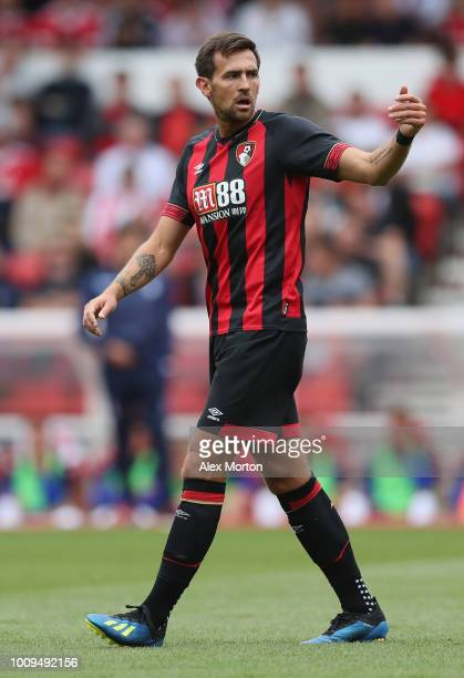 Charlie Daniels of Bournemouth during the pre season friendly match between Nottingham Forest and Bournemouth at City Ground on July 28 2018 in...