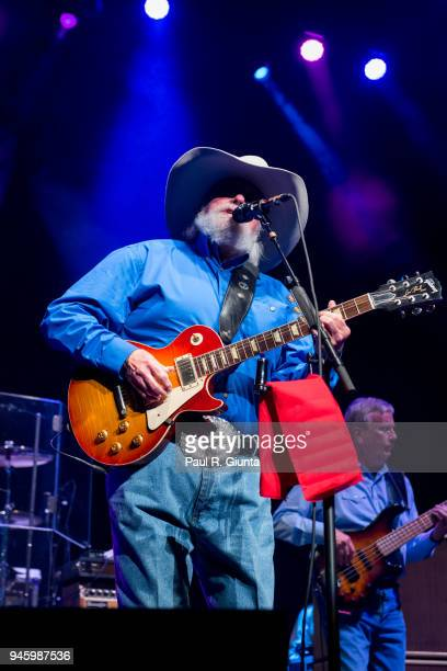 Charlie Daniels performs on stage as the opening act on the Alabama The Hits Tour 2018 at The Fox Theatre on April 13 2018 in Atlanta Georgia