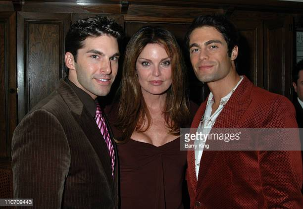 Charlie David Tracy Scoggins and Jon Fleming during Here Network founders Paul Colichman and Stephen Jarchow Honored at 2007 ACLU Pride Partnership...
