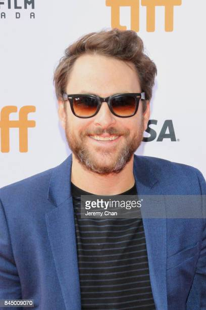 """Charlie Day attends the """"I Love You Daddy"""" premiere during the 2017 Toronto International Film Festival at Ryerson Theatre on September 9, 2017 in..."""