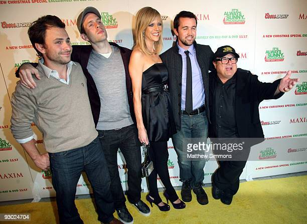 Always Sunny Christmas.Maxim Celebrates With The Cast Of Its Always Sunny In