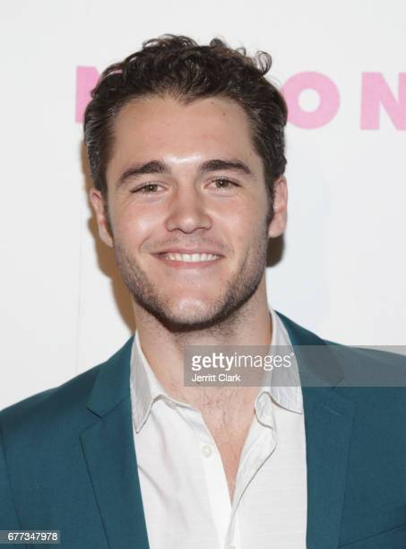 Charlie DePew attends NYLON's Annual Young Hollywood May Issue Event With Cover Star Rowan Blanchard at Avenue on May 2 2017 in Los Angeles California