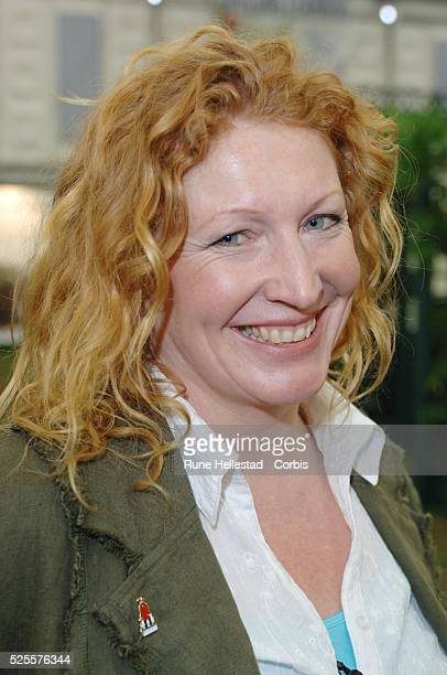 Charlie Dimmock attends a photocall at the Chelsea Flower ShowLondonUK