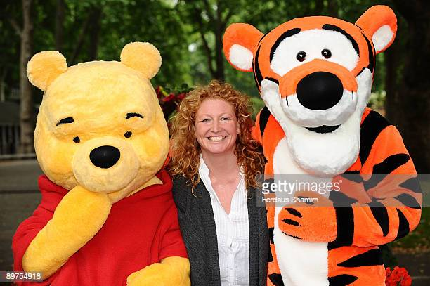 Charlie Dimmock attends a photocall for the Disney Children's Gardening Initiative on August 12 2009 in London England