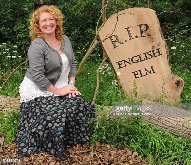 Charlie Dimmock attends the RHS Chelsea Flower Show