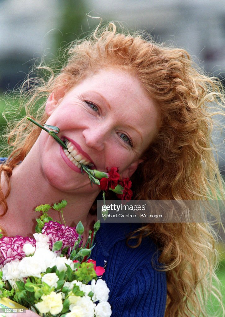 Charlie dimmockroyal mail 3 pictures getty images charlie dimmock star of bbc 1s ground force during a photocall m4hsunfo