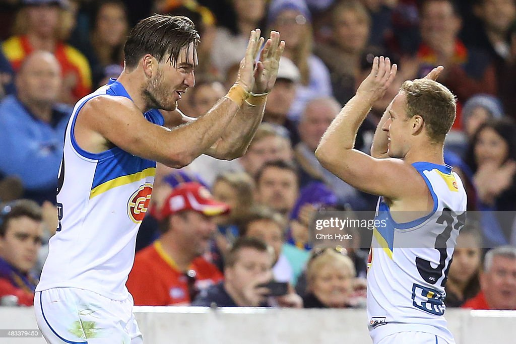 AFL Rd 19 -  Brisbane Lions v Gold Coast Suns : News Photo