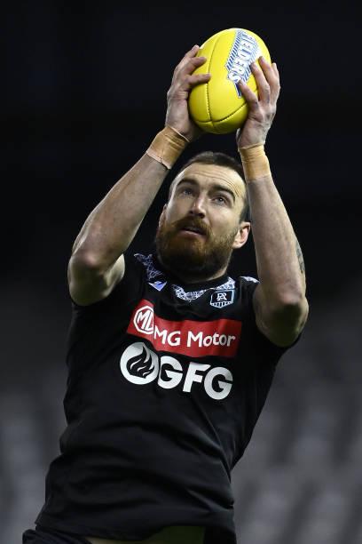 AUS: AFL Rd 19 - Port Adelaide v Collingwood