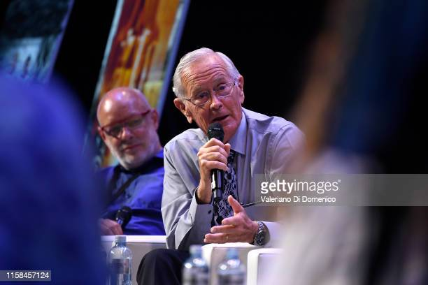 Charlie Duke attends Starmus V A Giant Leap sponsored by Kaspersky at Samsung Hall on June 26 2019 in Zurich Switzerland