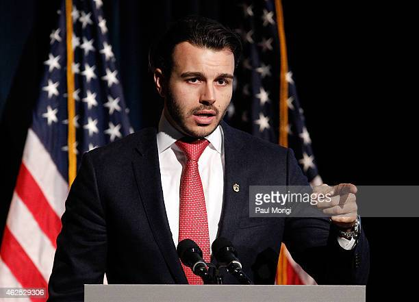 Charlie Ebersol President and CEO of The Company creator of the 6 Certified program speaks at the launch of the 6 Certified program at National...