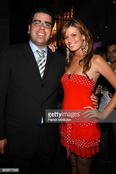 Charlie Enriquez Jr and Julie Doherty attend Miss Universe Post Pageant VIP Party hosted by Chuck Nabit Dave Geller Ed St John Greg Barnhill Freddie...
