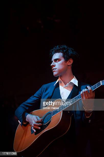 Charlie Fink of Noah and The Whale performs on stage on Day 3 of Lowlands Festival 2013 at Evenemententerrein Walibi World on August 18 2013 in...