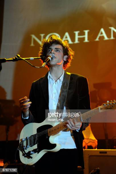 Charlie Fink performs at The Roundhouse on March 12 2010 in London England
