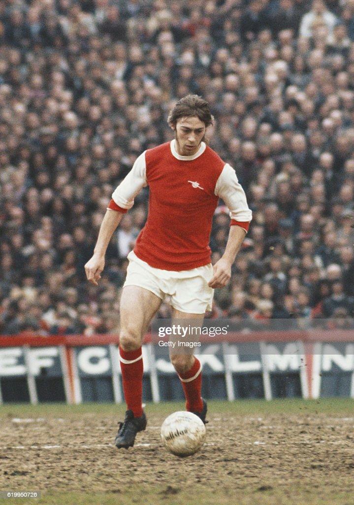 Charlie George Arsenal 1975 : News Photo