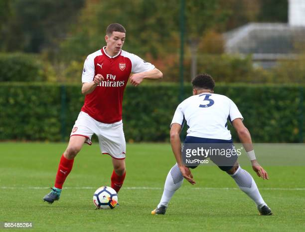 Charlie Gilmour of Arsenal during Premier League 2 Div 1 match between Tottenham Hotspur Under 23s against Arsenal Under 23s at Tottenham Hotspur...