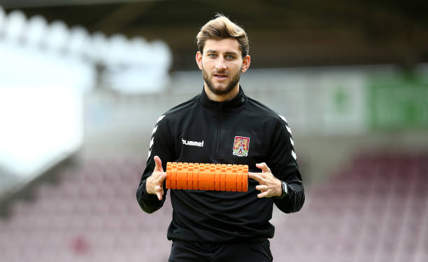 GBR: Northampton Town Training Session