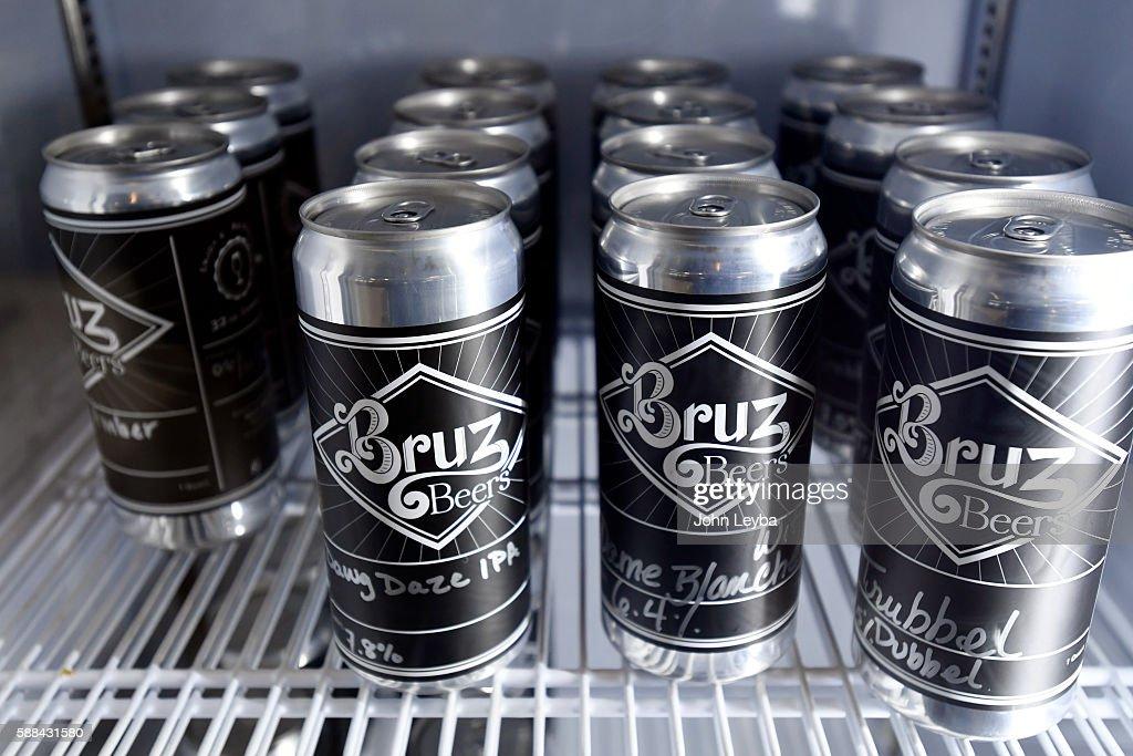 Bruz Beer in the new Midtown neighborhood in Denver : News Photo