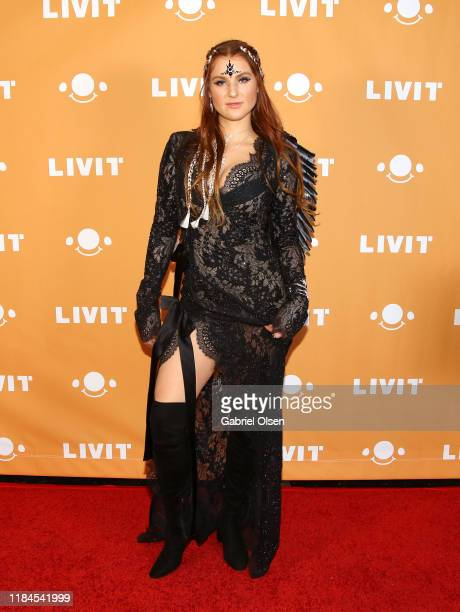 Charlie Grace attends Trip 'R' Treat with LIVIT LA's Largest Live Streaming Competition on October 30 2019 in Hollywood California