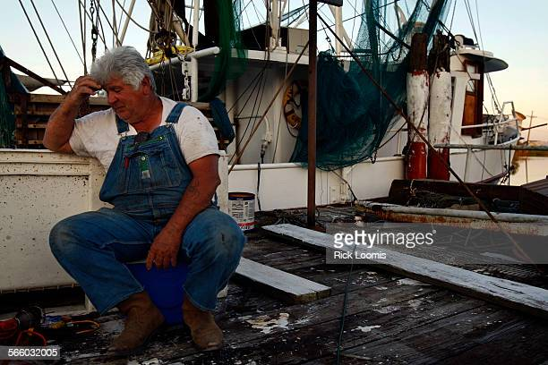 Charlie Guidry has been fishing the waters off the coast of Louisiana his whole life but is concerned for his livlihood in the wake of the oil spill...