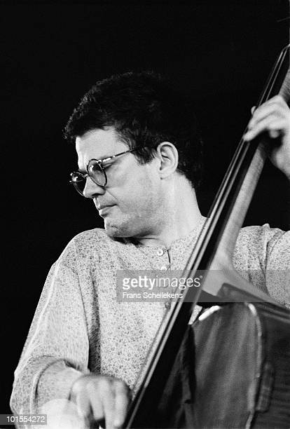Charlie Haden performs live on stage at the North Sea Jazz Festival in the Hague, Netherlands on July 10 1983