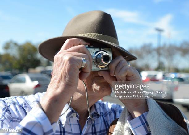 Charlie Harrington of Yorba Linda snaps few pictures of presidential impostors George Washington Thomas Jefferson Theodore Roosevelt and Abraham...