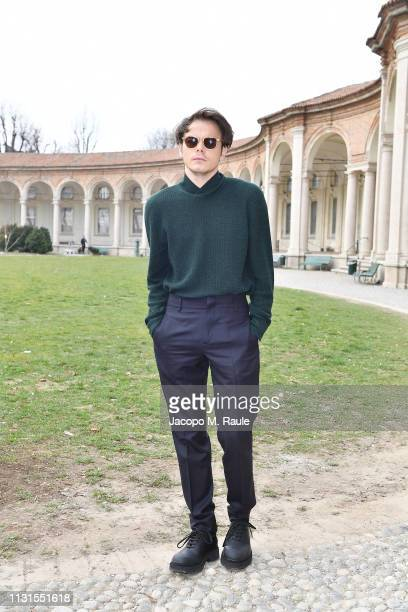 Charlie Heaton attend the Salvatore Ferragamo show during Milan Fashion Week Autumn/Winter 2019/20 on February 23, 2019 in Milan, Italy.