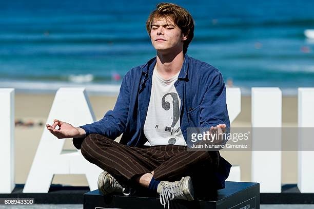 Charlie Heaton attends 'As You Are' photocall during 64th San sebastian Film Festival on September 20 2016 in San Sebastian Spain