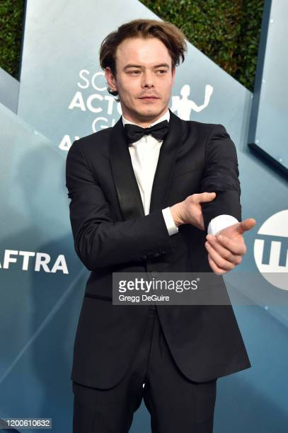 Charlie Heaton attends the 26th Annual Screen ActorsGuild Awards at The Shrine Auditorium on January 19 2020 in Los Angeles California 721430