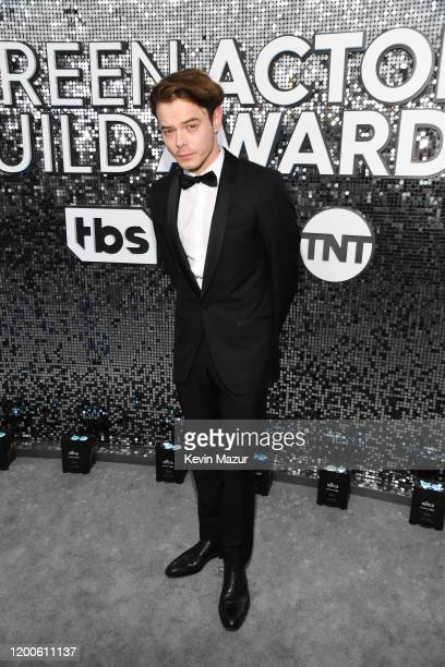 Charlie Heaton attends the 26th Annual Screen ActorsGuild Awards at The Shrine Auditorium on January 19 2020 in Los Angeles California 721336