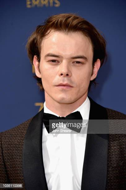 Charlie Heaton attends the 70th Emmy Awards at Microsoft Theater on September 17, 2018 in Los Angeles, California.