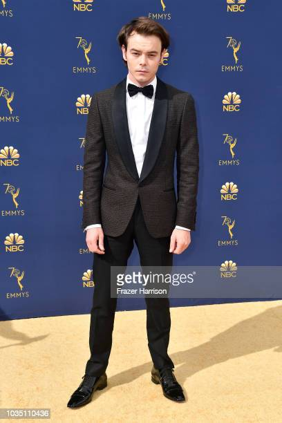 Charlie Heaton attends the 70th Emmy Awards at Microsoft Theater on September 17 2018 in Los Angeles California