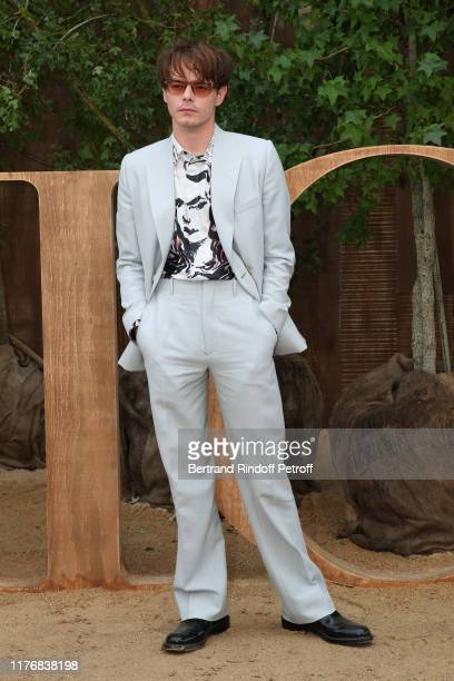 Charlie Heaton attends the Christian Dior Womenswear Spring/Summer 2020 show as part of Paris Fashion Week on September 24, 2019 in Paris, France.