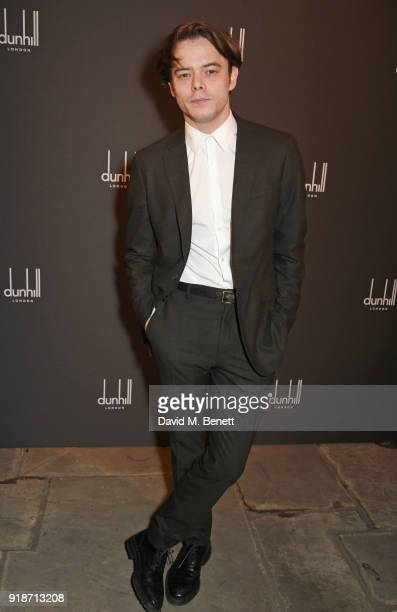 Charlie Heaton attends the Dunhill GQ preBAFTA filmmakers dinner and party cohosted by Andrew Maag Dylan Jones at Bourdon House on February 15 2018...