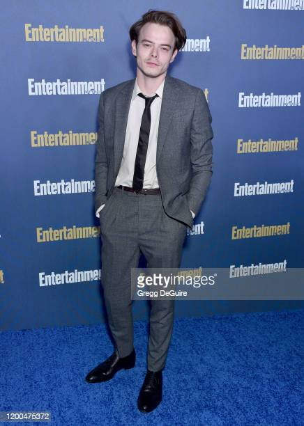 Charlie Heaton attends the Entertainment Weekly PreSAG Celebration at Chateau Marmont on January 18 2020 in Los Angeles California