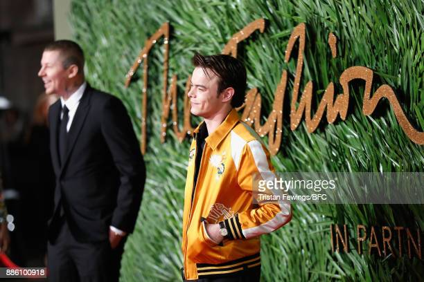 Charlie Heaton attends The Fashion Awards 2017 in partnership with Swarovski at Royal Albert Hall on December 4 2017 in London England