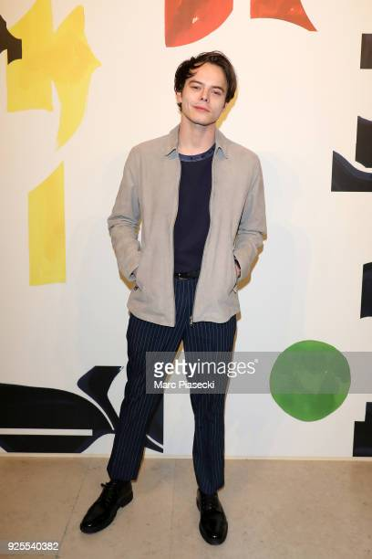 Charlie Heaton attends the HM show as part of the Paris Fashion Week Womenswear Fall/Winter 2018/2019 on February 28 2018 in Paris France
