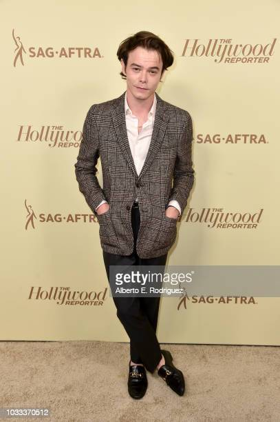 Charlie Heaton attends The Hollywood Reporter and SAG-AFTRA Annual Nominees Night to celebrate Emmy Award contenders at Avra Beverly Hills Estiatorio...