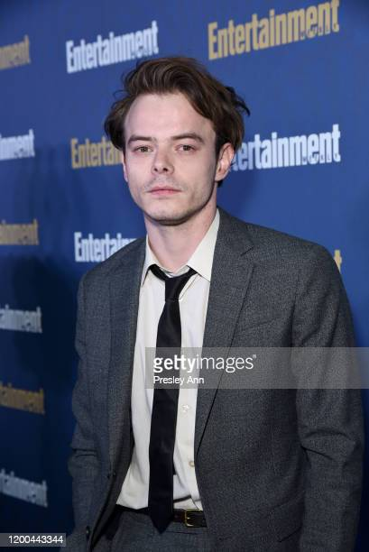 Charlie Heaton is seen as Entertainment Weekly Celebrates Screen Actors Guild Award Nominees at Chateau Marmont on January 18 2020 in Los Angeles...