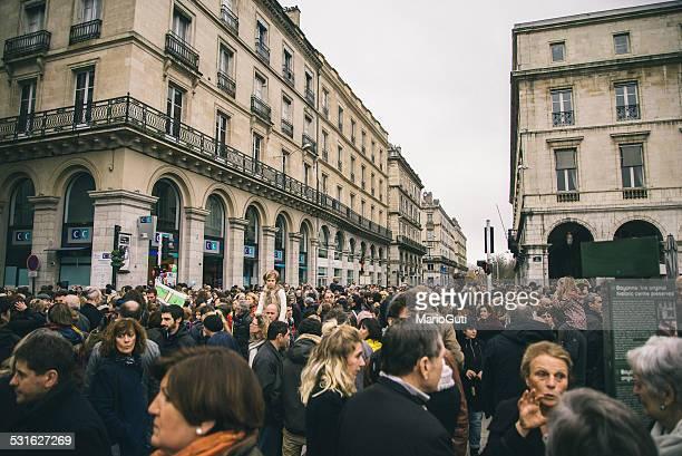 charlie hebdo protestations - 2015 photos et images de collection