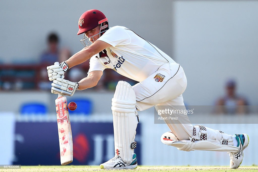 Sheffield Shield Final - Queensland v Tasmania: Day 3 : News Photo