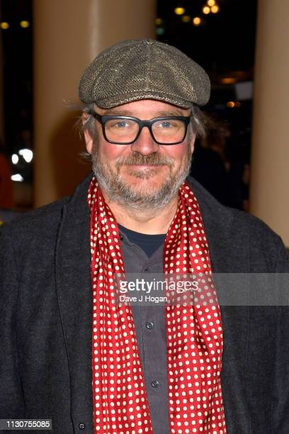 Charlie Higson attends the opening night of Only Fools and Horses The Musical at Theatre Royal Haymarket on February 19 2019 in London England